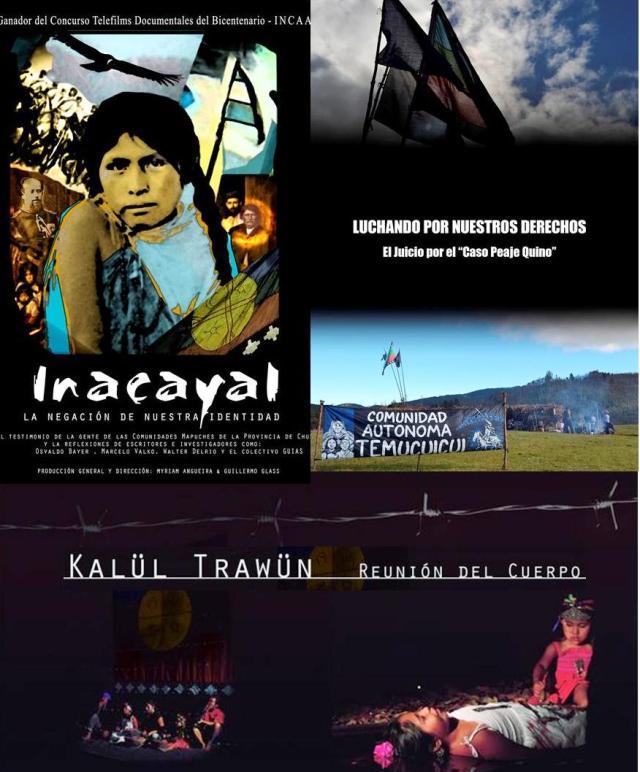 Obras audiovisuales mapuche en Festival BAI 2012