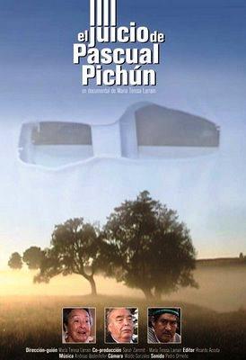 El juicio de pascual pichun - cartel