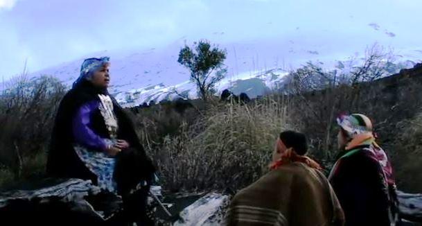 Captura la creación del mundo mapuche - waglen cap1