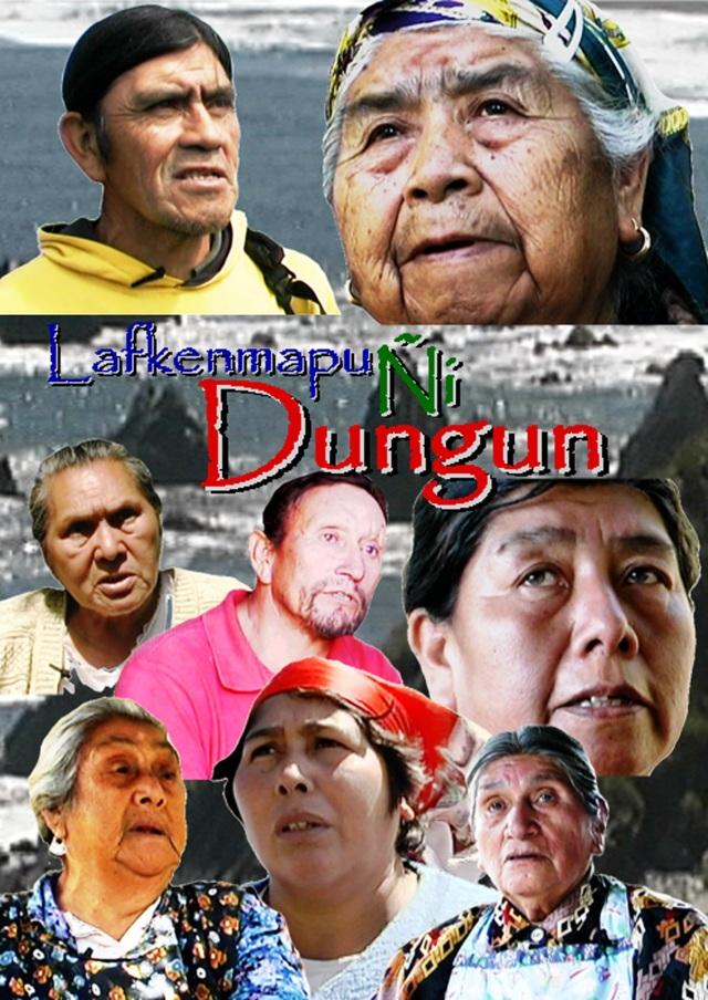 Cartel Lafkenmapu Ñi Dungun