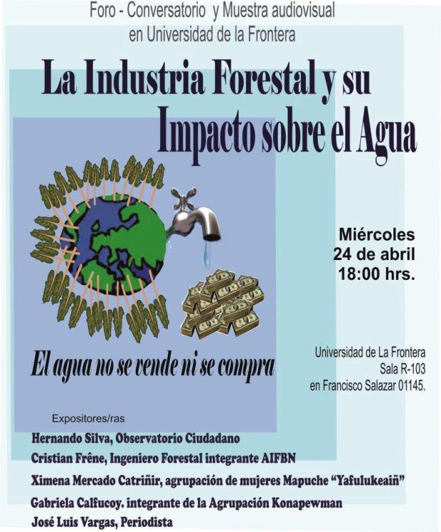 foro la industria forestal y su impacto sobre el agua