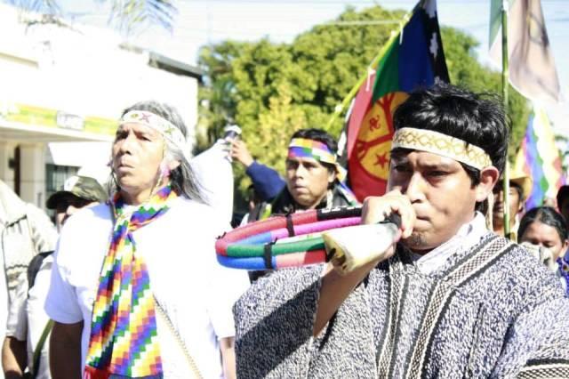 Cumbre Indígena instrumento