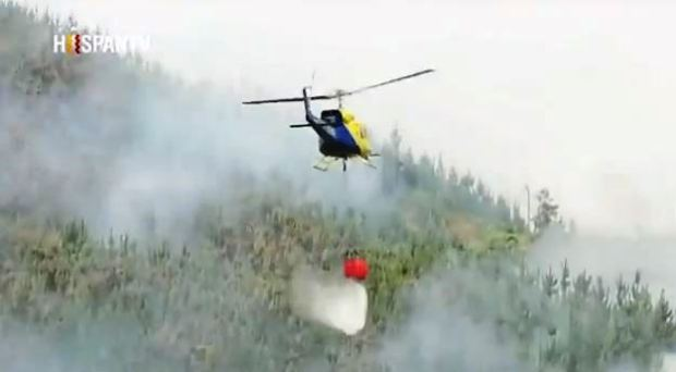 Captura nota hispantv incendios forestales