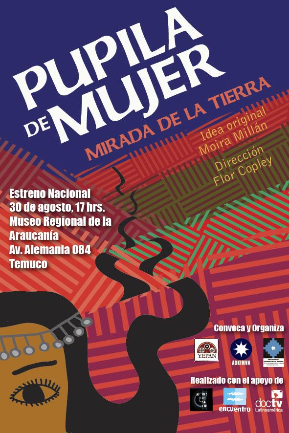 Afiche estreno tko pupila de mujer2