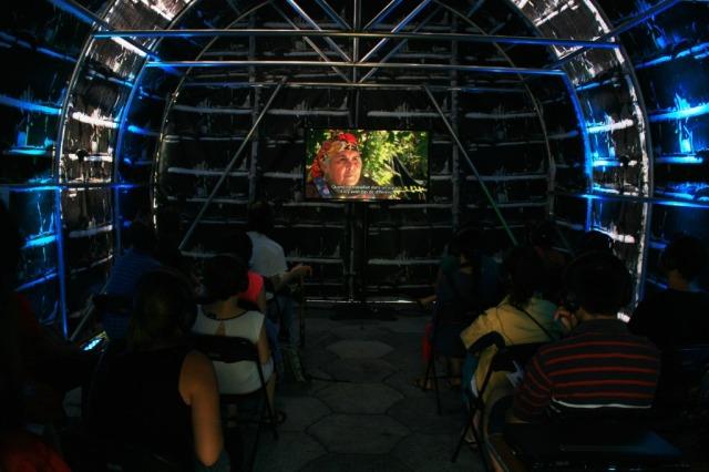 Muestra documental mapuche en festival Présence Autochtone - canadá2013 1