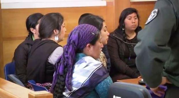 Captura nota detención mujeres mapuche 23102013
