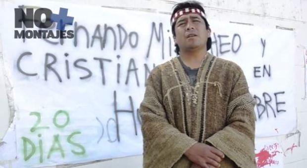 Captura nota campamento apoyo ppm en huelga de hambre - angol 08112013