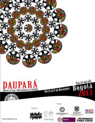 Daupará 2013 - Afiche
