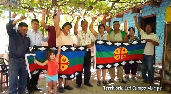 Captura Afectados por Chevron en Ecuador junto al Pueblo Mapuche