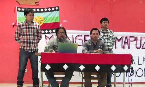 Captura lanzamiento academia lengua mapuche