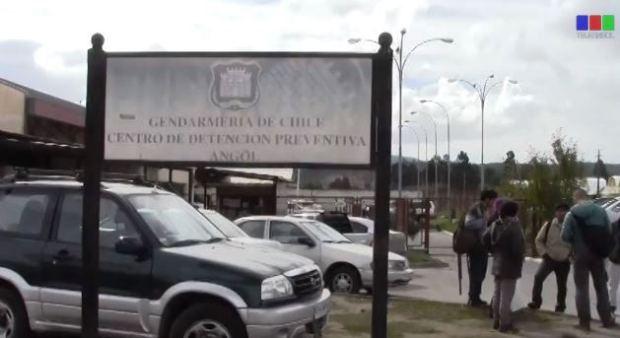Captura Presos Políticos Mapuche inician huelga de hambre en la Cárcel de Angol (video)