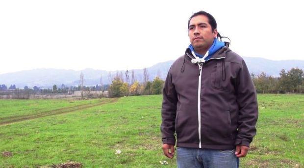 Captura Werken Daniel Melinao el tema de fondo es la devolución del territorio (video)