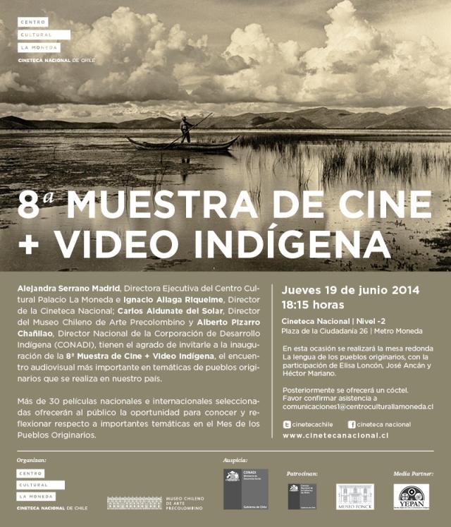 Invitación Muestra Cine Indígena
