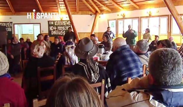 Captura Comunidades Mapuche exigen fin de proyectos hidroeléctricos (video)