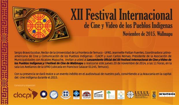 invitacion_XIIFestivalCineIndigena_2014