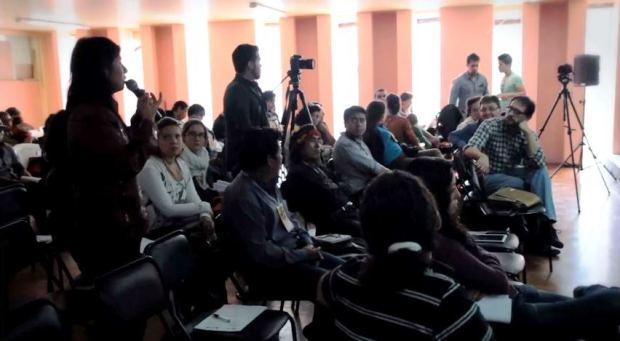 Captura Encuentro Internacional de Cine Comunitario (final) - Cotacachi, Ecuador 2014