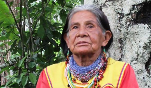 Captura INGI ANDECHA IÑASSU - Nuestra Madre Tierra Está Enferma - Documental - Pueblo Cofán (2015)