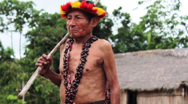 Captura LA ESPERA, Historias del Baguazo - Documental - Pueblos Awajún, Wampis (2014)