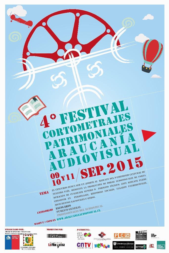 4 festival cortometrajes patrimonialesAraucanía Audiovisual