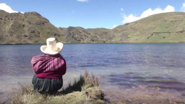 Captura AGUAS DE ORO - Documental - Pueblo Quechua (2015)