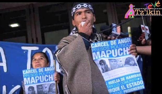 Captura Libertad al werken Hugo Melinao - Preso Político Mapuche (video)