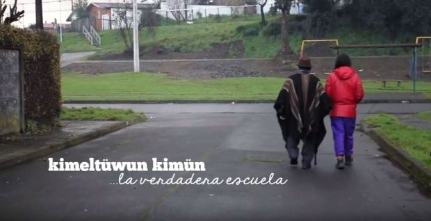Captura KIMELTUWÜN KIMÜN, La Verdadera Escuela - Trailer Documental (2016)