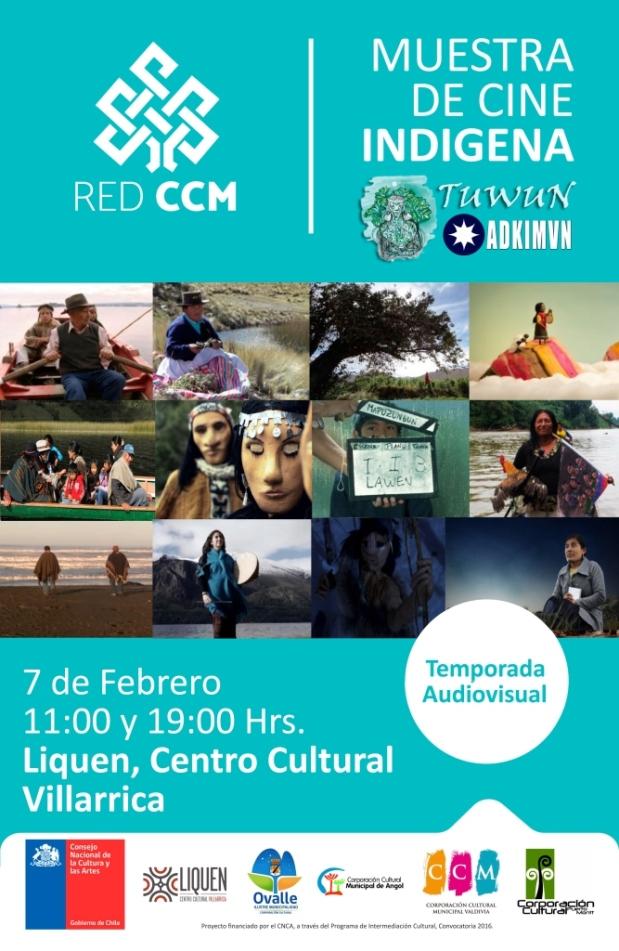 afiche_cine_indigena_villarrica
